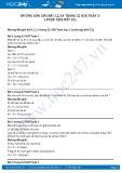 Hướng dẫn giải bài 1,2,3,4 trang 52 SGK Toán 3