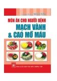Ebook Món ăn dành cho người bệnh mạch vành và cao mỡ máu