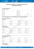 Hướng dẫn giải bài 1,2,3 trang 59 SGK Toán 3
