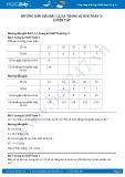 Hướng dẫn giải bài 1,2,3,4 trang 62 SGK Toán 3