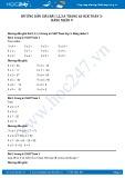 Hướng dẫn giải bài 1,2,3,4 trang 63 SGK Toán 3