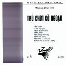Ebook Thú chơi cổ ngoạn - Vương Hồng Sển