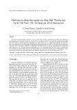 Đánh giá tác động theo ngành của Hiệp định Thương mại Tự do Việt Nam - EU: Sử dụng các chỉ số thương mại