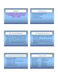 Chương 5: Các phương pháp, công cụ, kỹ thuật của quản trị chất lượng