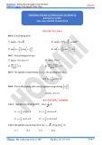 Bài tập tự luyện Phương trình lượng giác cơ bản
