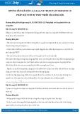 Giải bài tập Pháp luật với sự phát triển của công dân SGK GDCD 12