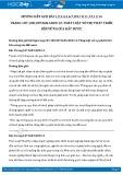 Giải bài tập Pháp luật với sự phát triển bền vững của đất nước SGK GDCD 12