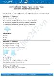 Hướng dẫn giải bài 1,2,3 trang 150 SGK Toán 3