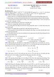 Đề luyện thi PEN-I 2017 môn Vật lý - Chuẩn bị kì thi THPT Quốc gia (Đề 5)
