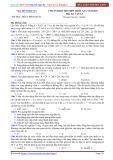 Đề luyện thi PEN-I 2017 môn Vật lý - Chuẩn bị kì thi THPT Quốc gia (Đề 3)