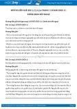 Giải bài tập Chính sách đối ngoại SGK GDCD 11