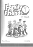 Family and friends workbook special edition 1
