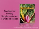 Lecture Discovering nutrition - Chapter 7a: Spotlight on dietary supplements and functional foods