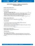 Hướng dẫn giải bài 1,2,3 trang 10 SGK Lịch sử 6