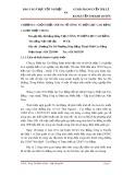Báo cáo tốt nghiệp: Tổn thất điện năng tại công ty điện lực Cao Bằng