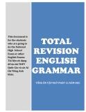 Ôn tập ngữ pháp tiếng Anh 12