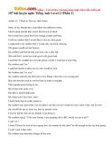 107 bài luyện nghe tiếng Anh Level 2 (Phần 1)
