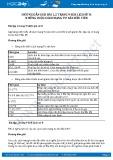 Hướng dẫn giải bài 1,2 trang 9 SGK Lịch sử 8