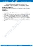 Hướng dẫn giải bài 1 trang 27 SGK Lịch sử 8