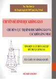Chuyên đề hình học không gian: Cực trị hình học không gian và các khối lồng nhau