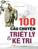 Ebook 100 câu chuyện về triết lý & kẻ trí: Phần 1