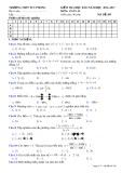 Đề thi HK 2 môn Toán lớp 10 - Trường THPT Tuy Phong - Mã đề 209