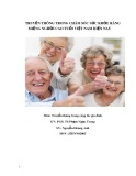 Đề tài: Truyền thông trong chăm sóc sức khỏe răng miệng người cao tuổi Việt Nam hiện nay
