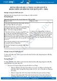 Hướng dẫn giải bài 1,2 trang 124 SGK Lịch sử 8