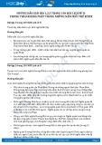 Hướng dẫn giải bài 1,2,3 trang 130 SGK Lịch sử 8