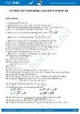 270 Bài tập Toán nâng cao lớp 9 có đáp án