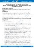 Giải bài Những hoạt động của Nguyễn Ái Quốc ở nước ngoài trong những năm 1919 -1925 SGK Lịch sử 9