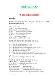 Bài tập ôn thi tiếng Anh lớp 10