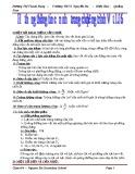 Công thức Vật lý lớp 6