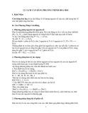 12 Cách cân bằng phương trình hoá học