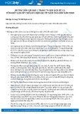 Hướng dẫn giải bài 1 trang 74 SGK Lịch sử 12