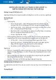 Giải bài Những thành tựu văn hoá thời cận đại SGK Lịch sử 11