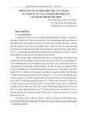 Nghiên cứu khoa học: Những yếu tố tác động đến việc cấu thành suy nghĩ tự tử của vị thành niên hiện nay tại thành phố Hồ Chí Minh