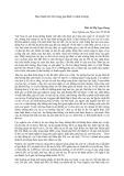 Bài viết Bạo hành trẻ em trong gia đình và nhà trường - ThS Lê Thị Ngọc Dung