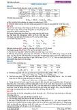 Bài tập Nhiệt động học