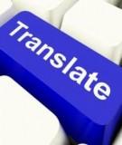 hướng dẫn dịch văn bản khoa học xã hội