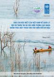 Báo cáo đặc biệt của Việt Nam về quản lý rủi ro thiên tai và các hiện tượng cực đoan nhằm thúc đẩy thích ứng với biến đổi khí hậu