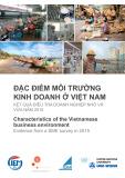 Ebook Đặc điểm môi trường kinh doanh ở Việt Nam: Kết quả điều tra doanh nghiệp nhỏ và vừa năm 2015