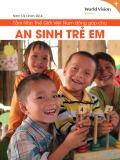Báo cáo Tầm nhìn thế giới Việt Nam đóng góp cho an sinh trẻ em