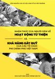 Đề tài Nhận thức của người dân về hoạt động từ thiện và khả năng gây quỹ của các tổ chức phi chính phủ Việt Nam