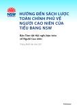 Hướng đến sách lược toàn chính phủ về người cao niên của tiểu bang NSW: Bản tóm tắt Hội nghị bàn tròn về người cao niên
