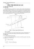 Bài giảng Công trình bến - cảng - Chương 3: Công trình bến bệ cọc cao