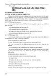 Bài giảng Công trình bến - cảng - Chương 2: Tải trọng tác động lên công trình bến