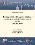 Báo cáo Nghiên cứu, ODSEF - Thu hẹp bất bình đẳng giới ở Việt Nam: Phân tích trên cơ sở kết quả Tổng điều tra dân số Việt Nam 1989, 1999 và 2009