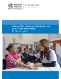 Hướng dẫn chương trình giảng dạy về An toàn bệnh nhân: Ấn bản đa ngành