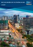 Báo cáo Nghiên cứu thị trường Hà Nội Q1 2017